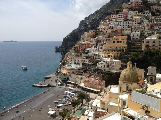 Positano on the Amalfi Coast of Italy