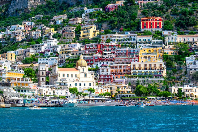 Positano on the Amalfi Coast of Italy is one of the most amazing day trips from Sorrento to do!