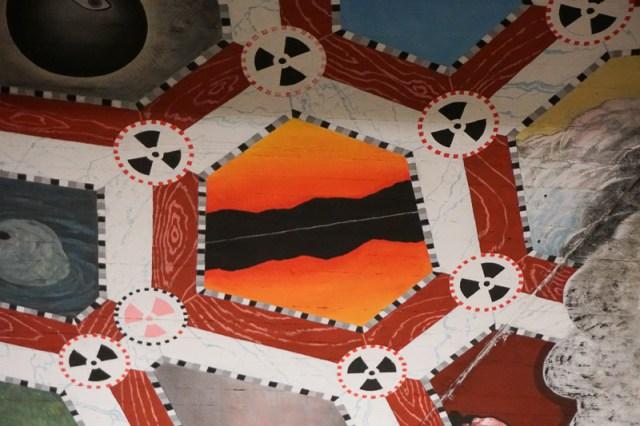 Ceiling Art Kungstradgarden Station Stockholm