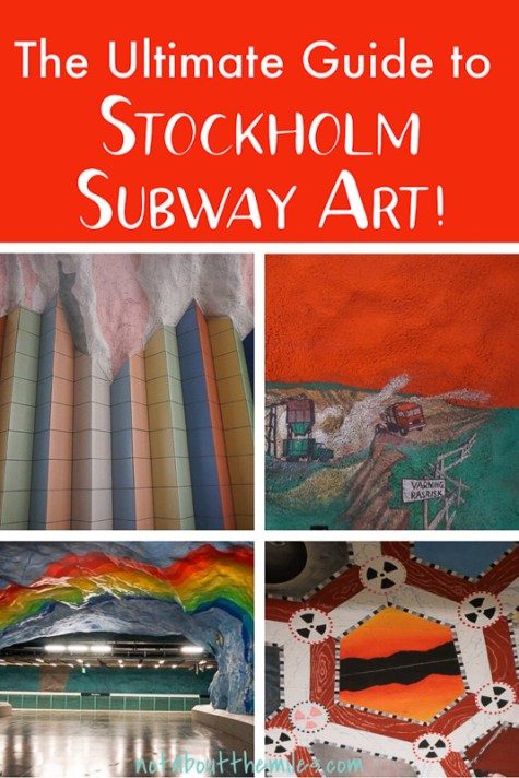 Get the ultimate guide to Stockholm subway art! From brilliant colors to meaningful themes, you'll find a lot to admire in Stockholm's underground art gallery!
