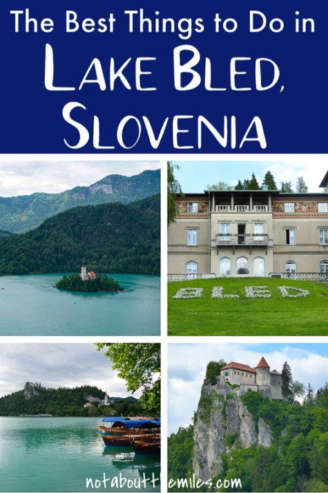 From Bled Castle to Vintgar Gorge and walking the shore of Lake Bled to exploring Bled Island, discover the bdest things to do in Lake Bled, Slovenia!