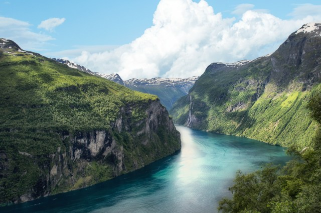 A beautiful fjord in Norway
