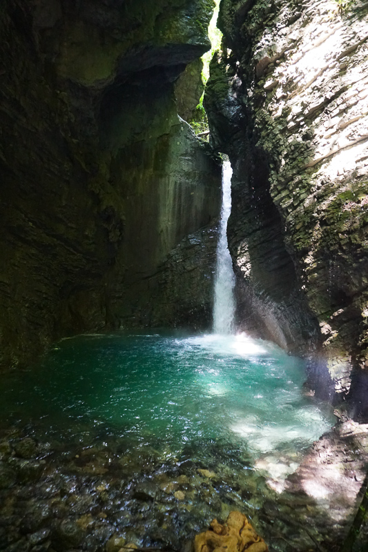 Kozjak Falls Kobarid Slovenia