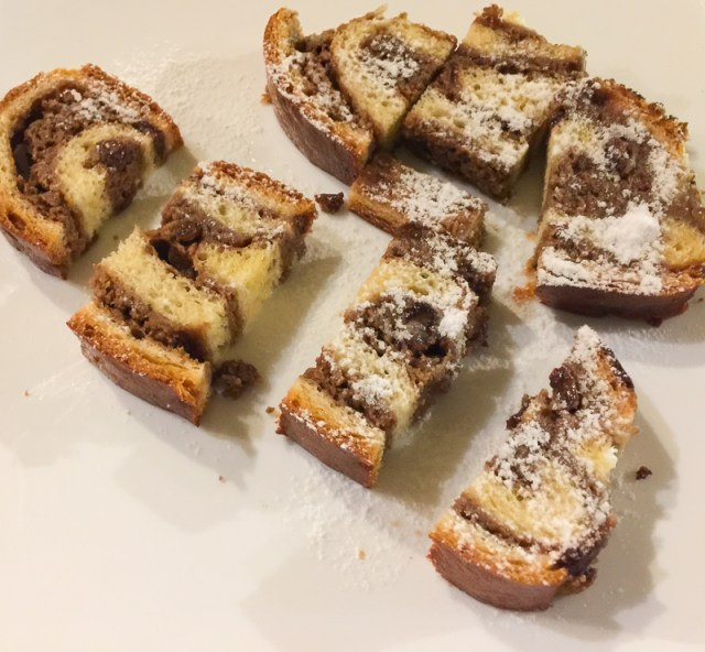 Layered Slovenian pastry