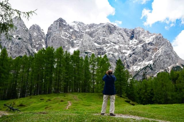 North Face of Prisank Slovenia