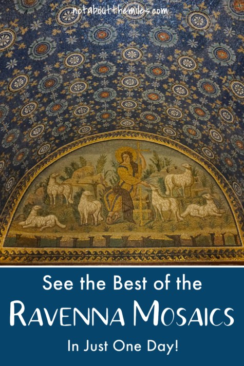 Visit Ravenna in Italy to see the best-of-the-West mosaic art! From late Roman to Byzantine mosaics, you can see the best of the Ravenna mosaics in just one day!