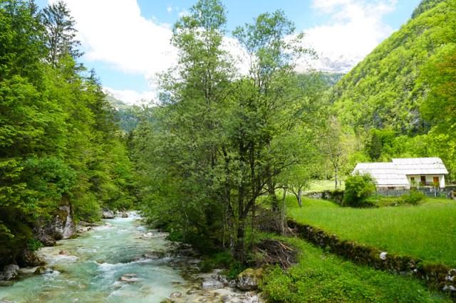 Soca River Valley Slovenia