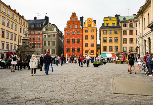 Stortorget is the main square in Gamla Stan Stockholm