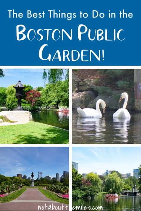 From swan boat rides to street musicians and picnics in the park to statues and memorials, discover the best things to see and do in the Boston Public Garden!