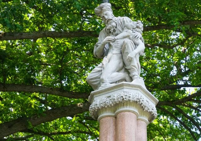 The Ether Fountain Boston Public Garden
