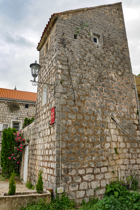 A baroque palace in Perast Montenegro