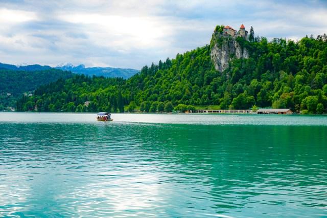 Beautiful Lake Bled in Slovenia