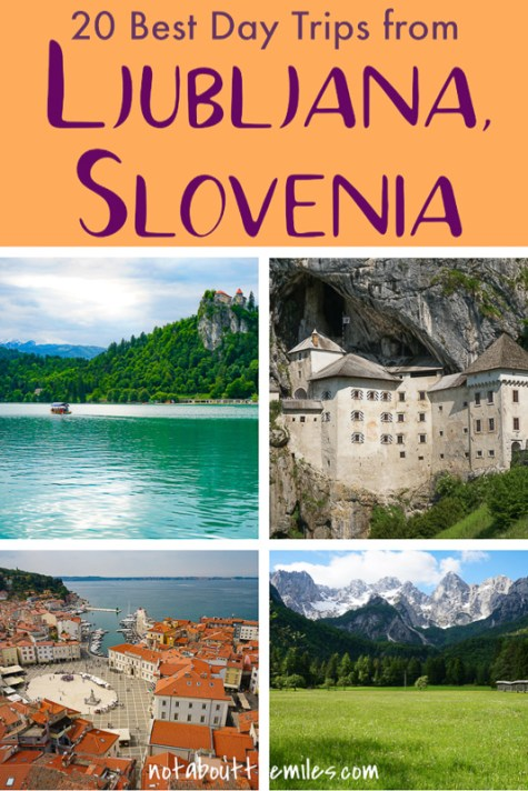 From scenic wonders like the Julian Alps to charming towns like Piran, discover the best day trips from Ljubljana, the capital of Slovenia.