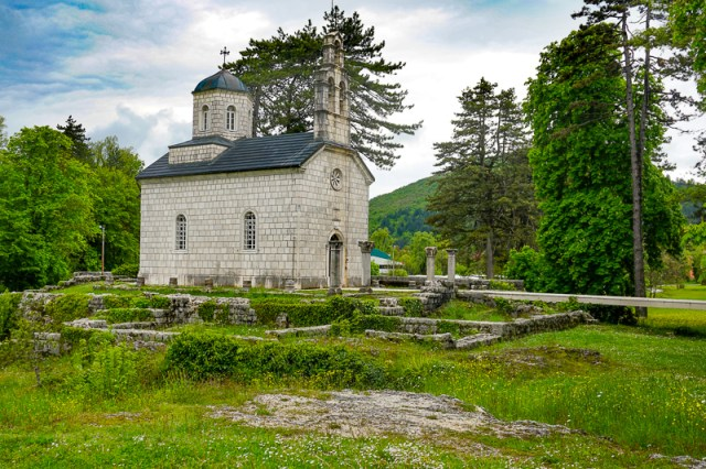 Court Church on Cipur Cetinje Montenegro