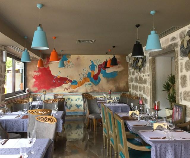 Interior Armonia Restaurant Perast Montenegro