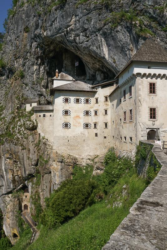 Predjama Castle Slovenia and Secret Cave Exit