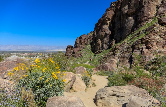 Tahquitz Canyon near Palm Springs California