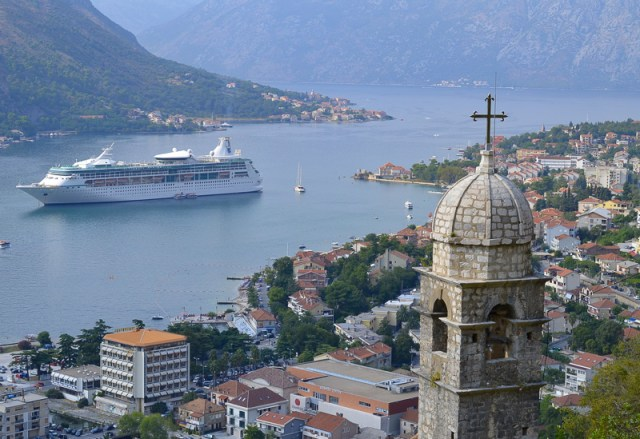 Tower of the Church of Our Lady of Remedy Kotor Montenegro
