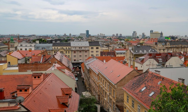 Upper Town Viewpoint Zagreb Croatia