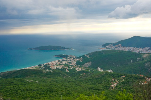 View of Budva Montenegro