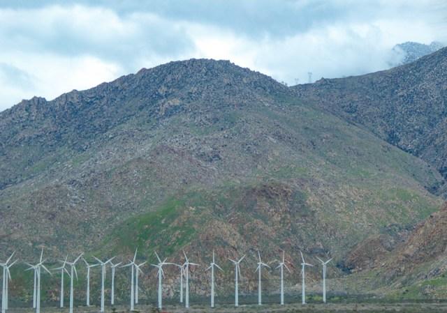 Windmills near Palm Springs, California