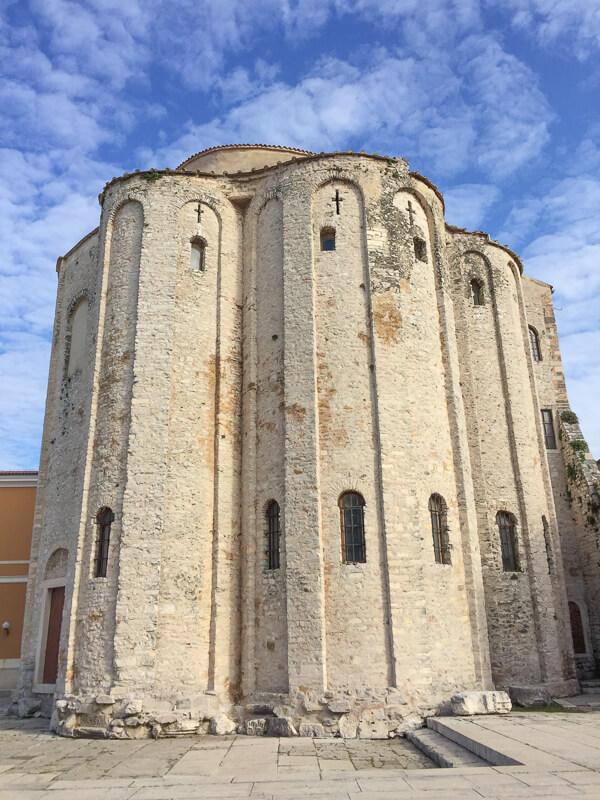 Church of St. Donatus Zadar Croatia