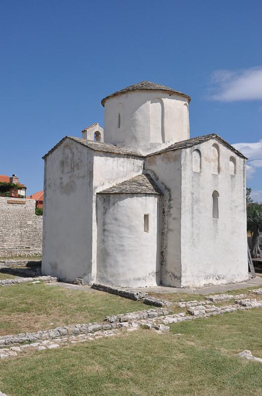 Church of the Holy Cross Nin Croatia