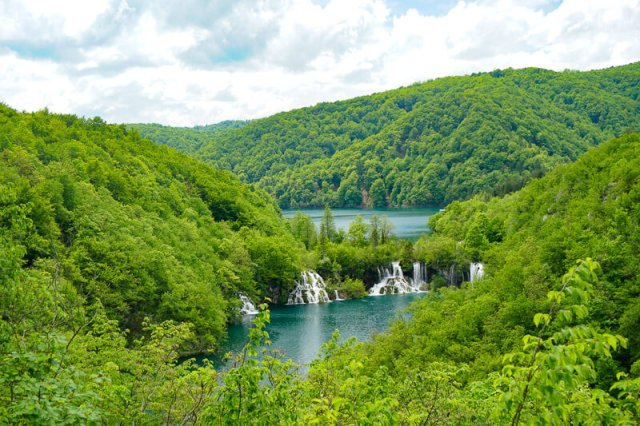Plitvice Lakes National Park UNESCO World Heritage Site Croatia