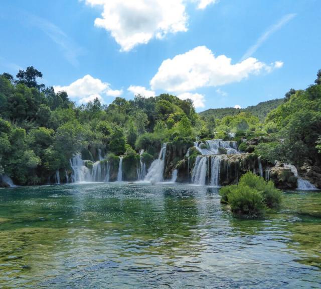 Skradinski Waterfall Krka National Park Croatia