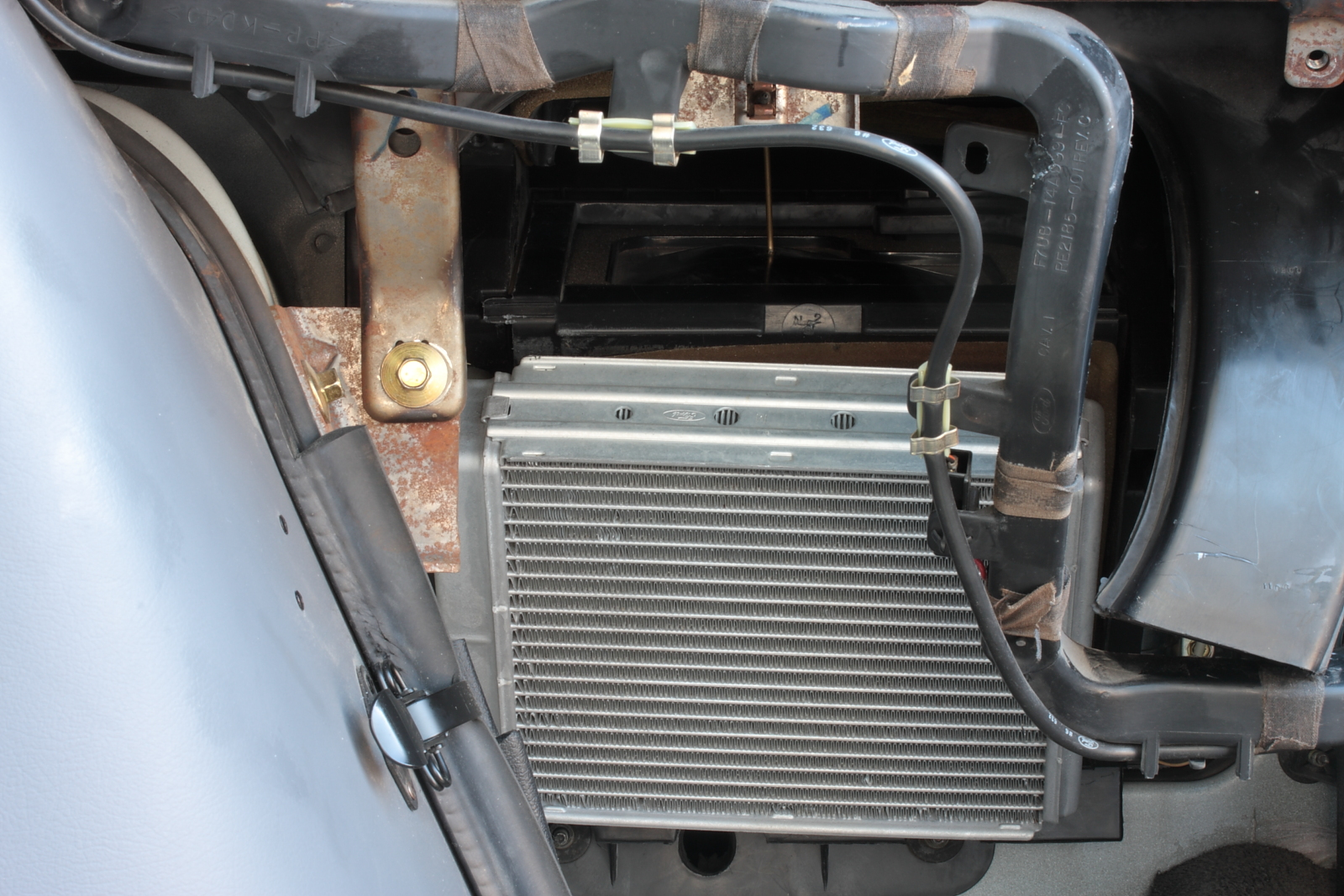 1997 Ford Explorer Fuse Diagram Air Conditioner Ford Heater Blend Door Manual Control