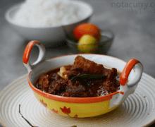 Bengali mutton kosha golbari style