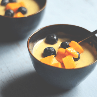 authentic saffron phirni recipe