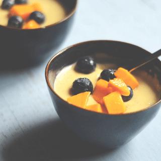 authentic saffron phirni recipe