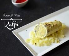 How to make kesar pista kulfi with falooda