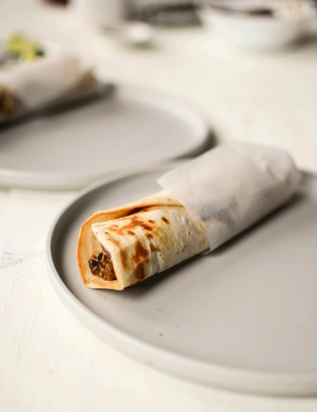 Kolkata style leftover chicken rolls