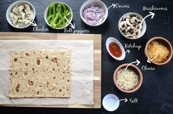 Easiest and healthiest homemade pizza
