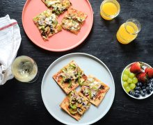 Pita pizza made easy and fun for kids