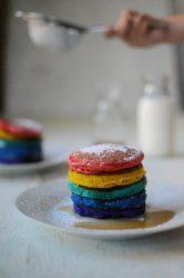 Best rainbow pancake recipe