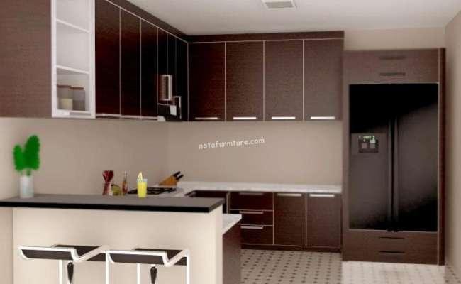 Jual Kitchen Set Minimalis Murah Di Kota Tangerang Nota