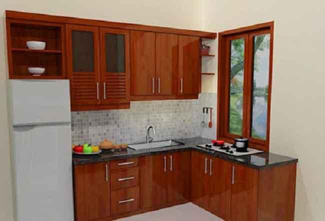 Interior Rumah  Membuat Dapur Mungil nan Cantik  Nota