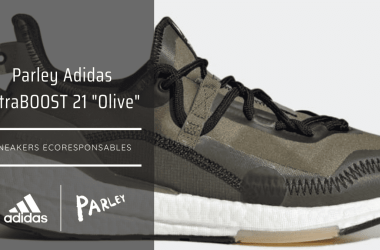 """Parley Adidas UltraBOOST 21 """"Olive"""""""