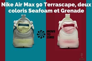 Bannière Nike Air Max 90 Terrascape