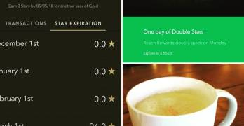 Why so many posts about @starbucks recently, Oscar?  Go read my blog post about it. That will explain it. Link in bio.  And did you see my stars?  #starbucks #business #coffee #latte #cascara #socialmedia #marketing #businesssuccess #newblogpost #businesslessons #gamification #starbucksrewards