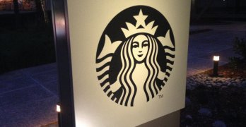 A picture of the starbucks logo