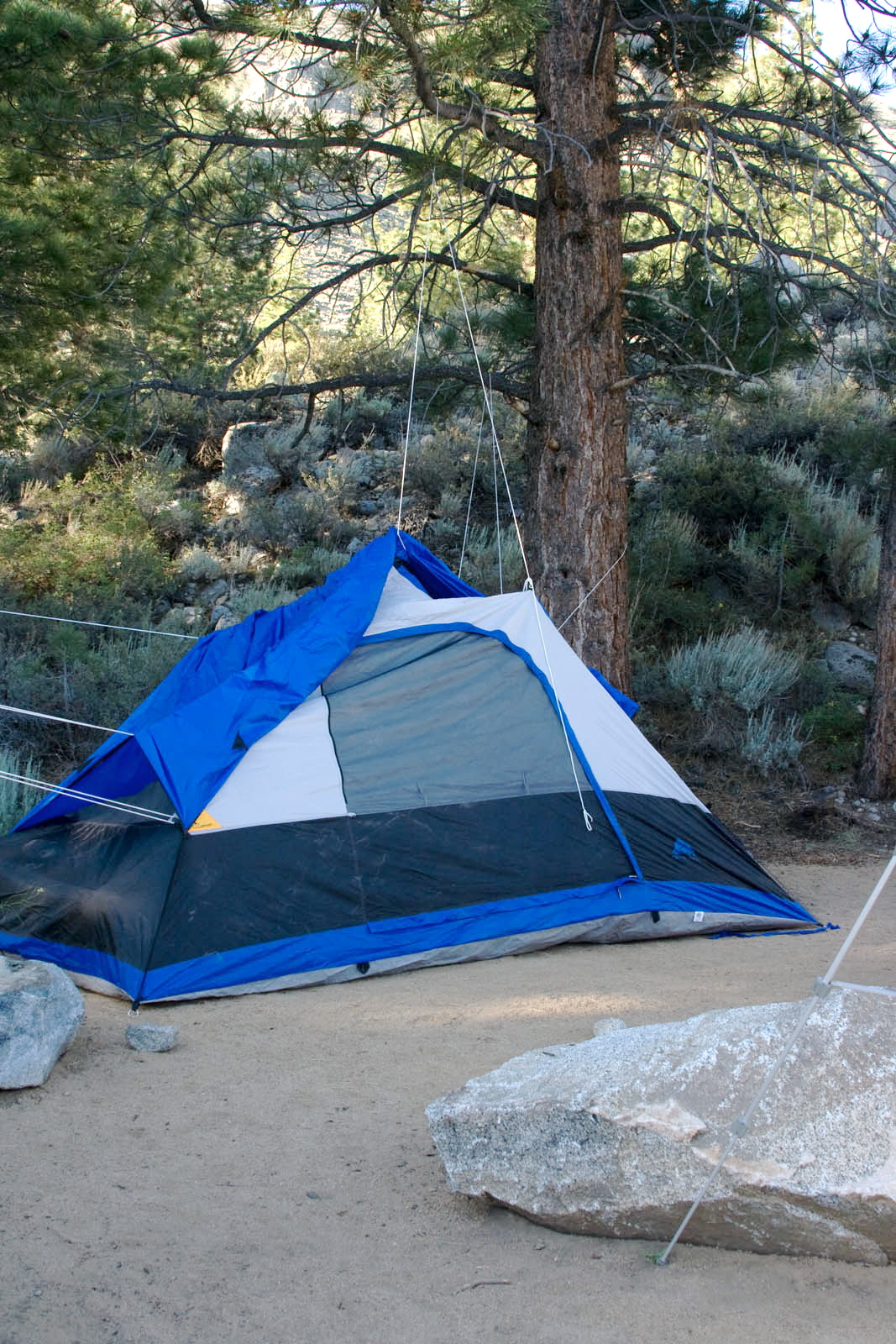 The crappiest tent you ever saw