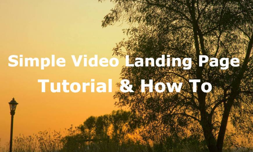 how-to-make-video-landing-page-cover-image
