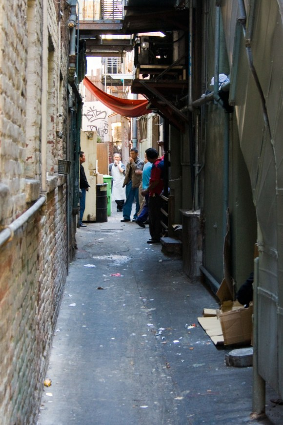 Alley next to Great Eastern