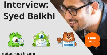 Interview with Syed Balkhi. On Business and Success.