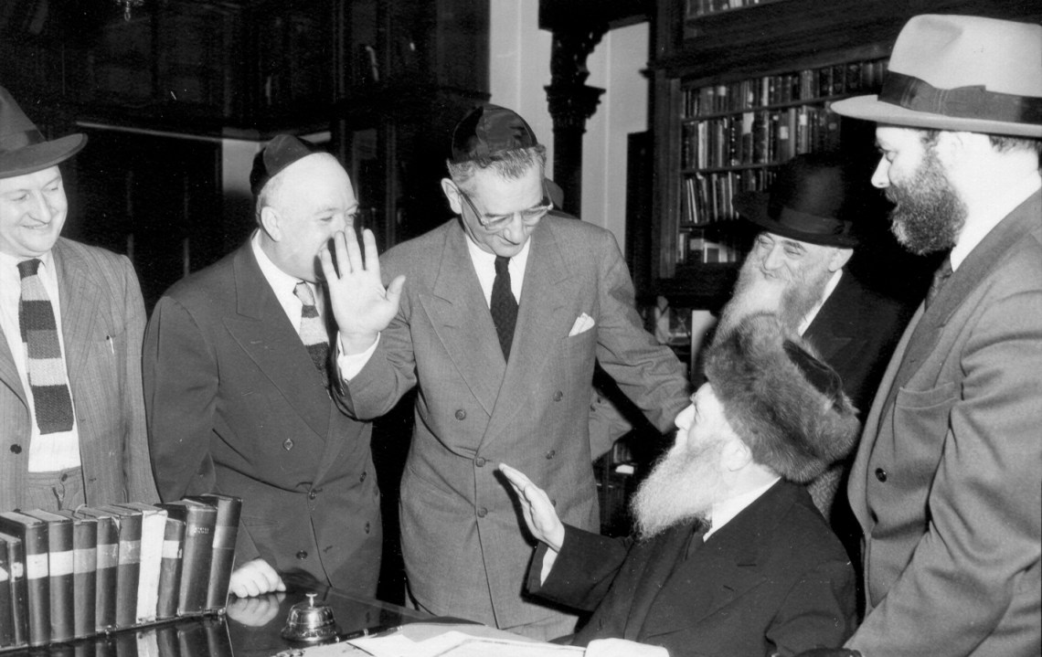 Why the Rebbe Stayed in America