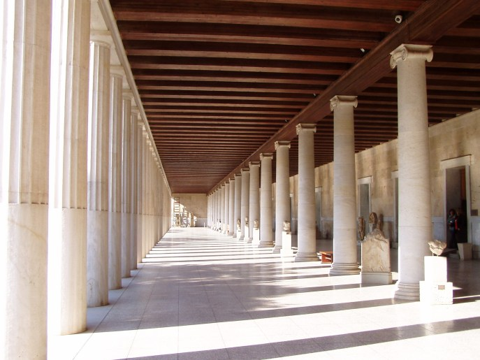 The Xyst at the Stoa of Attalos.